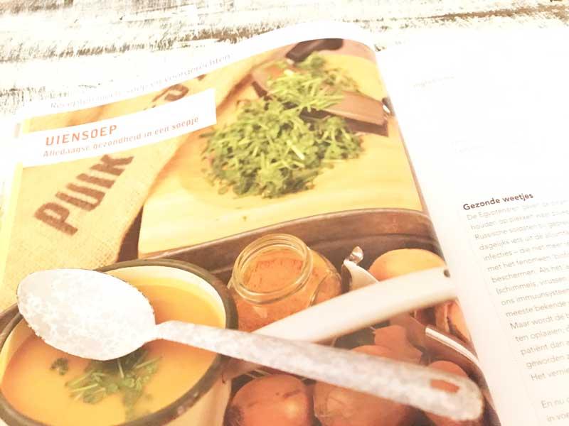 Uiensoep, gezond recept