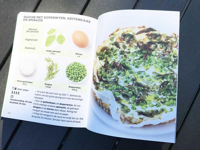 Makkelijk recept, groentenquiche