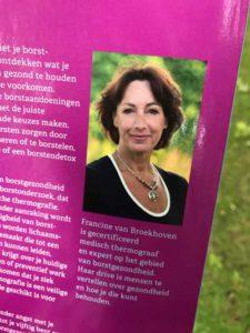 Groene Zuster, Francine van Broekhoven. Boek over thermografie bij borsten.