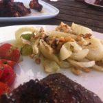 Groente op de barbecue: gegratineerde venkel