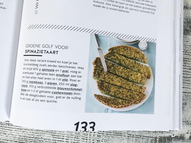Recept spinazietaart