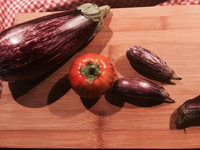 Waarom zijn aubergines gezond? Dit zijn de aubergines die ik toegestuurd kreeg.