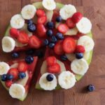 Fruit-meloen-pizza