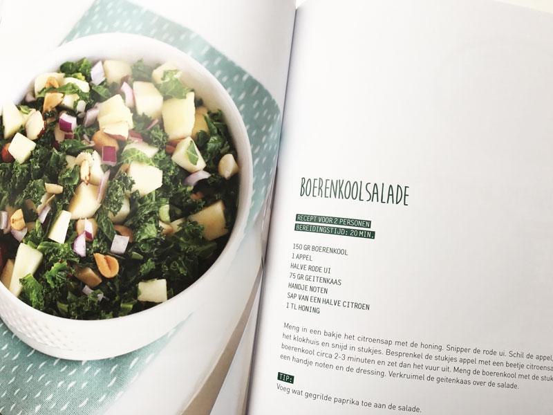 Boerenkoolsalade recept