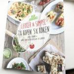Nieuwste boek Lekker & Simpel, snelle en makkelijke recepten