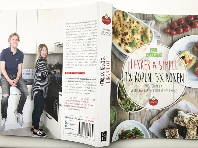Nieuwste boek Lekker en Simpel