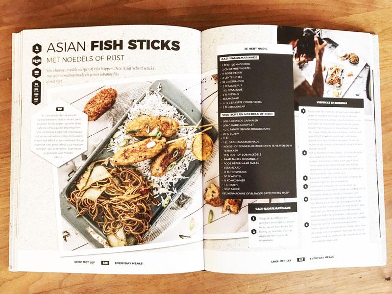Recepten die mannen lekker vinden. Maar het is wel een gezond kookboek!