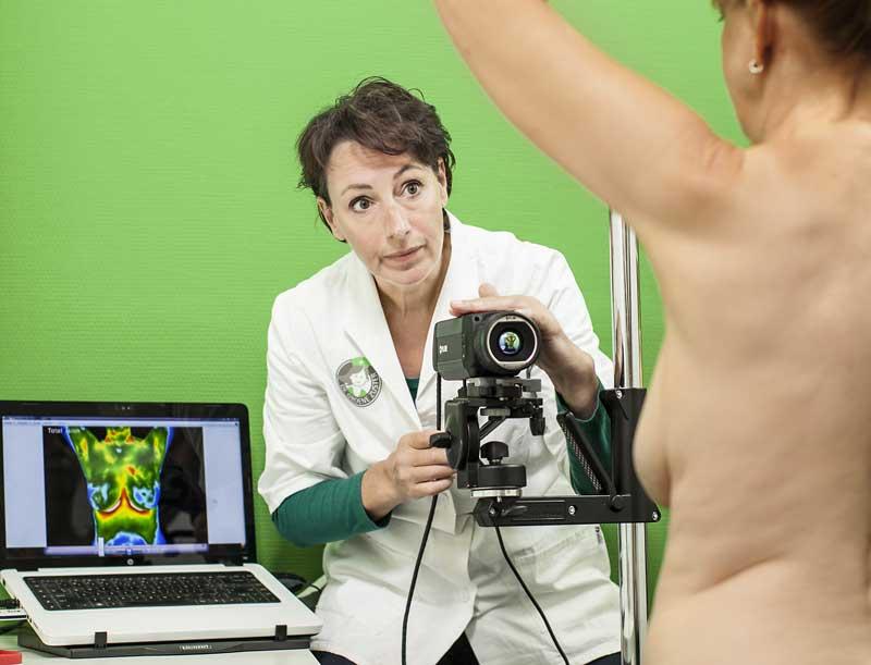 Preventief borstonderzoek met medische thermografie.