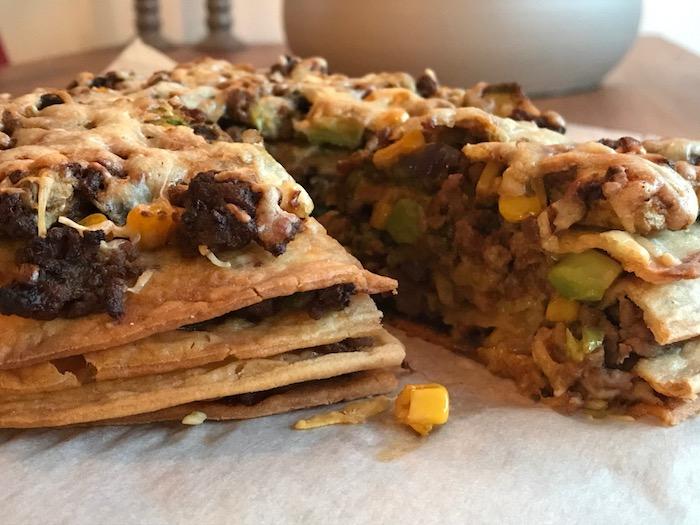 Glutenvrije recepten, zoals met deze glutenvrije wraps waarmee ik allerlei wraptaarten maakte!