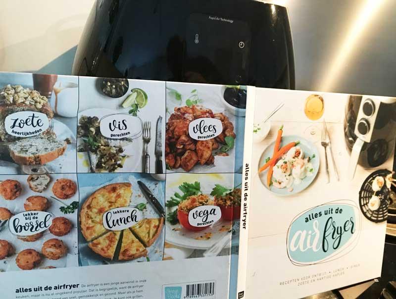 Kookboek met recepten voor de airfryer