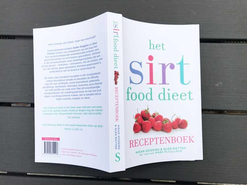 Receptenboek voor het Sirtfood dieet
