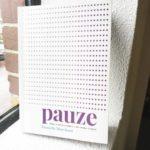 boek Pauze