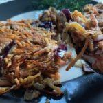 Gezonde lunch | lunchkoeken van wortel en gepofte quinoa
