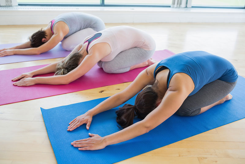 Anti-stress, betere concentratie yoga-oefening