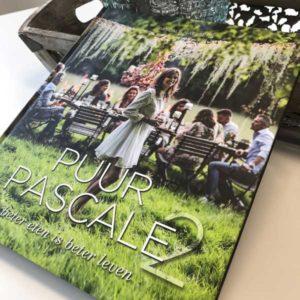 Pure recepten in het nieuwste kookboek van Pascale Naessens