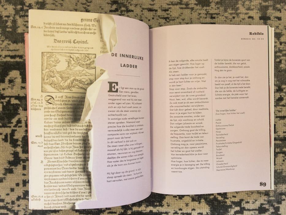 Het boek Rebible - inspirerende bijbelverhalen in een modern jasje