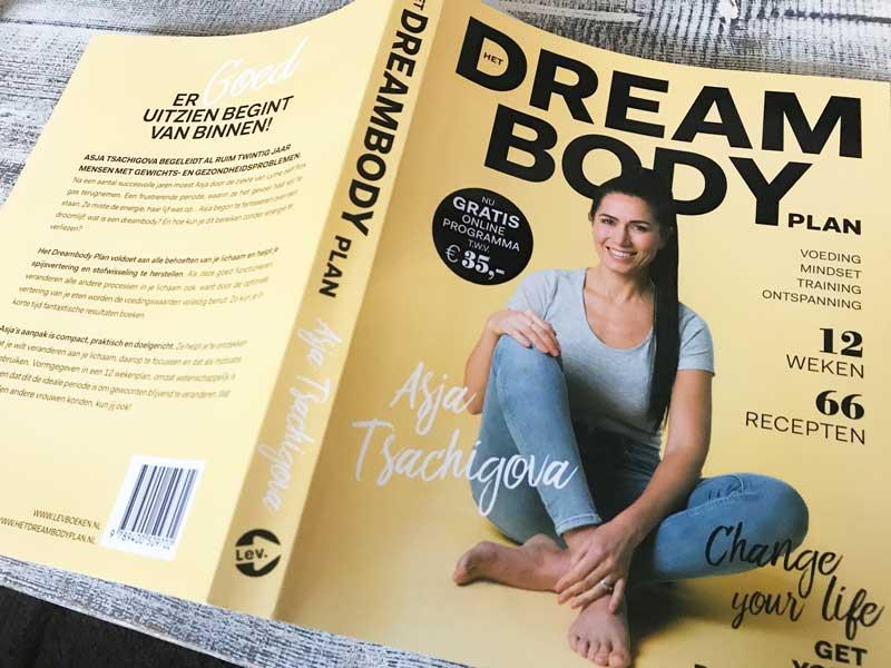 Boek met dieetplan voor 12 weken