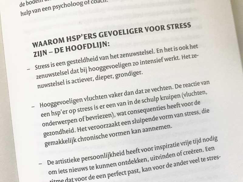 HSP en stress