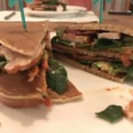 low carb club sandwich