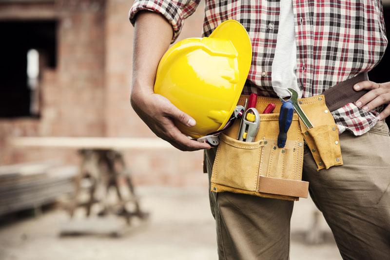 Afvallen voor bouwvakkers