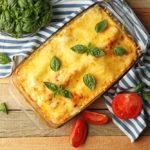 Groente-lasagne met blauwe kaas
