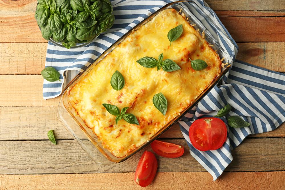 Groente lasagne met kaas, een heerlijk koolhydraatarm recept