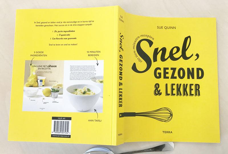 Kookboek met tien-minuten-recepten