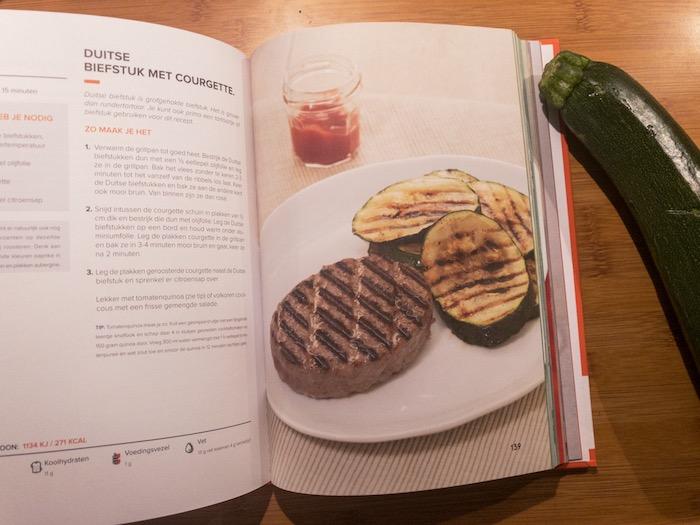 Nieuwste kookboek met eiwitrijke recepten in de FitChef Turbo.