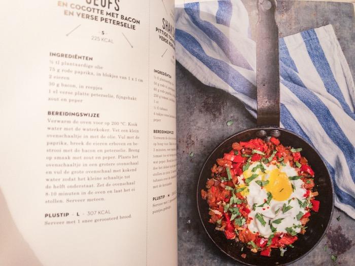 Gebakken ei ontbijt recept van Mieke Kosters uit Skinnyminds
