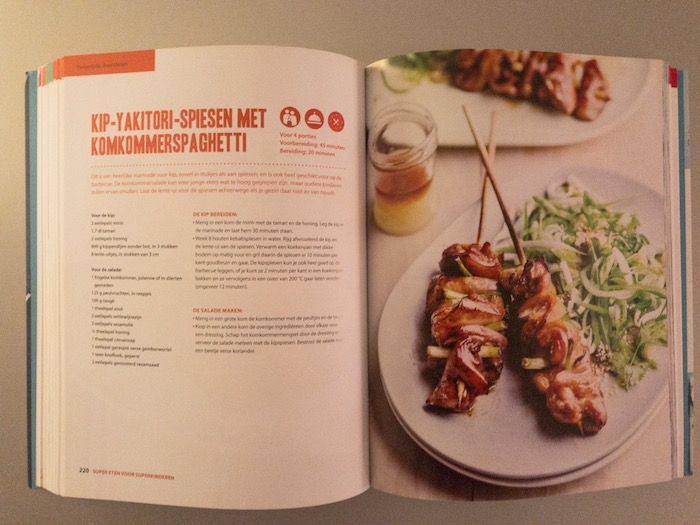 Heerlijke recepten voor kinderen, kookboek.