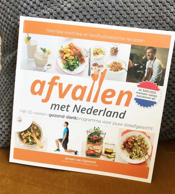 Boek Afvallen met Nederland