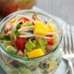 Slanke kip mango salade van Jasper Alblas