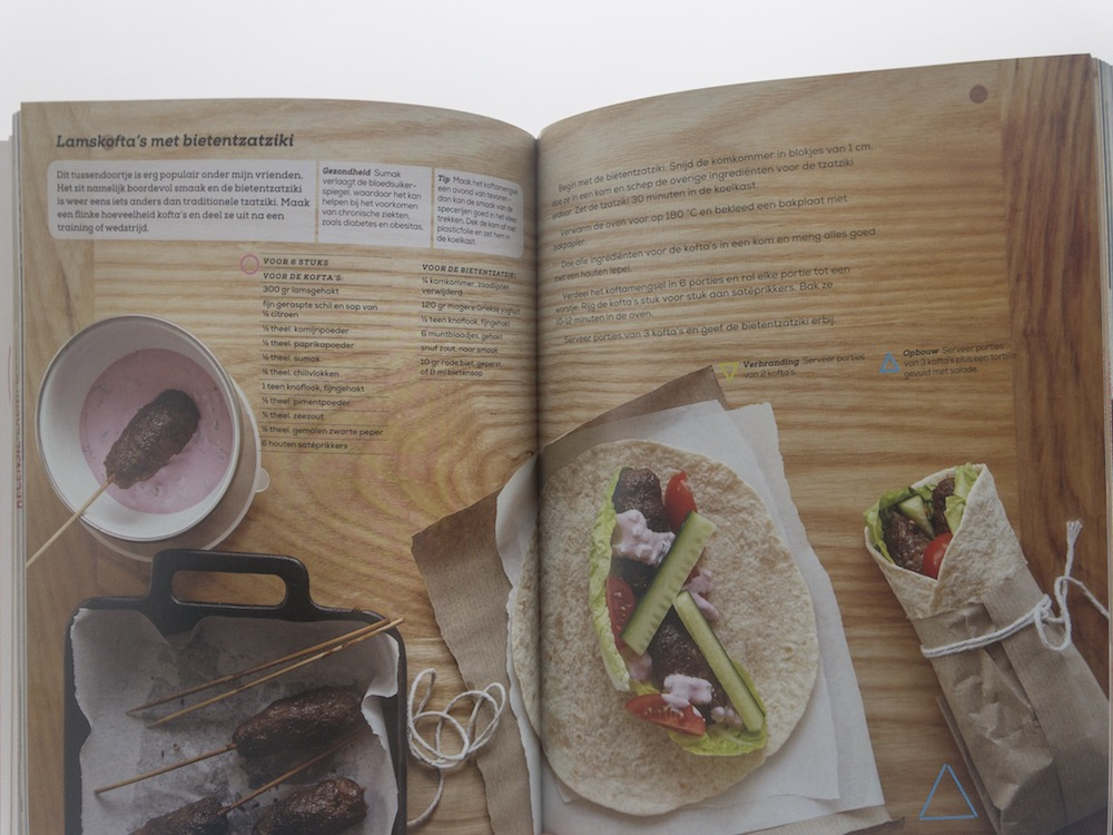 Kookboek voor sporters, fitness & crossfit food