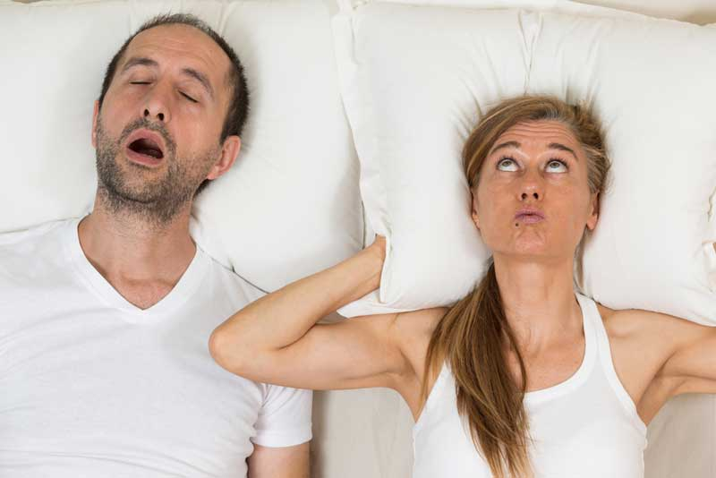 Help, mijn man snurkt