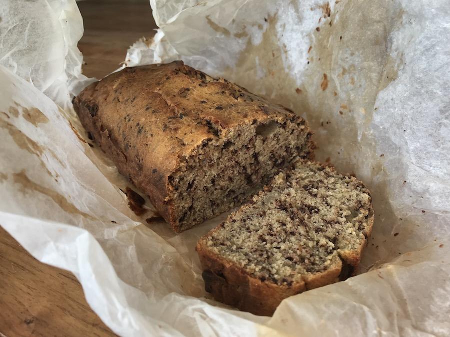 Recept voor een suikervrije cake met chocolade & noten