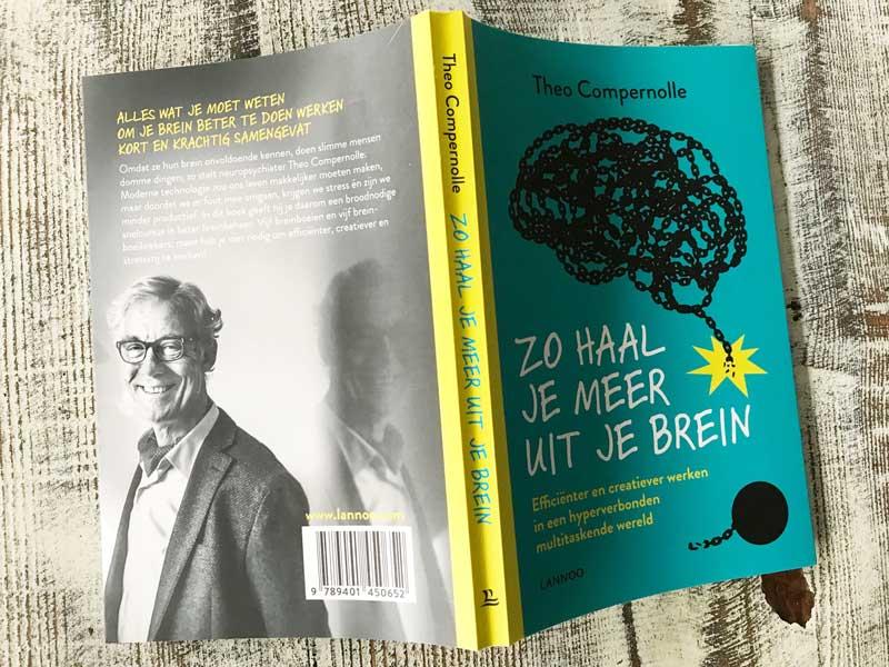 Boekreview Zo haal je meer uit je brein, van neuropsychiater Compernolle