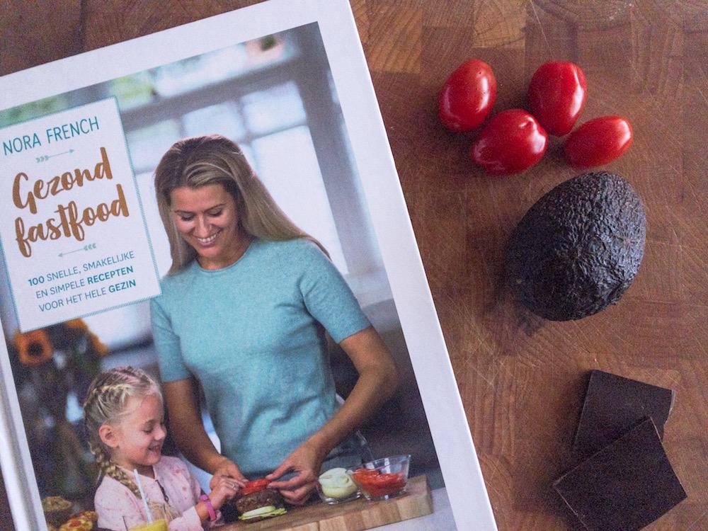Gezond fastfood, het nieuwste boek van Nora French