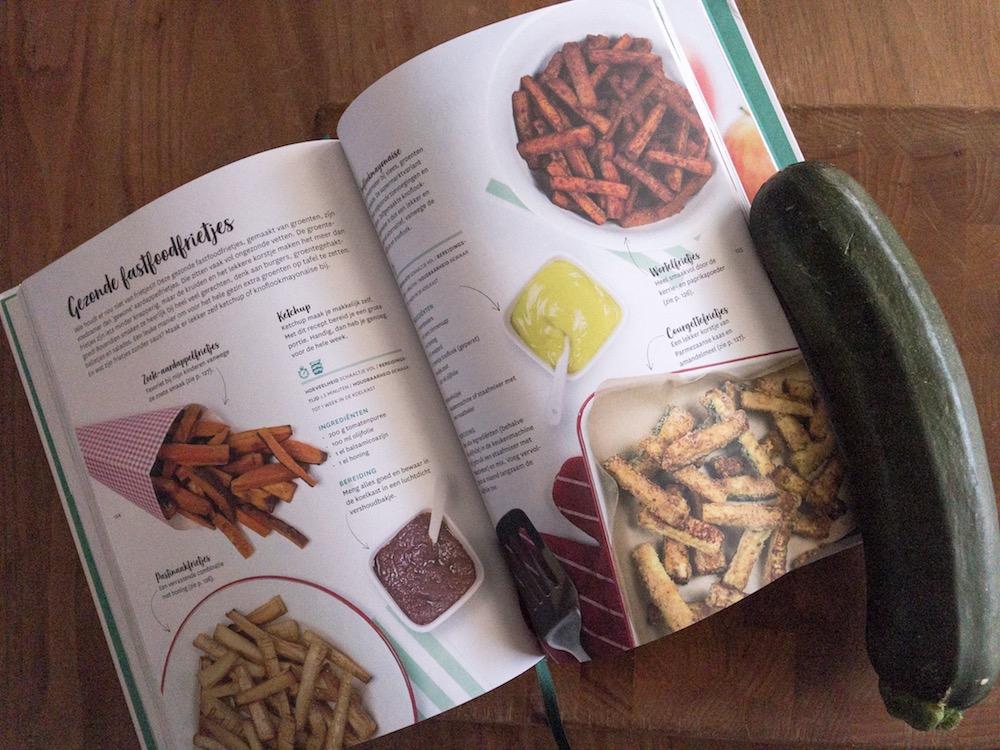 Gezonde lekkere voeding uit het nieuwste boek van Nora French