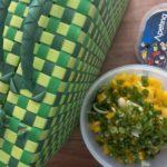 Komkommer-paprikasalade – ideaal voor de picknick