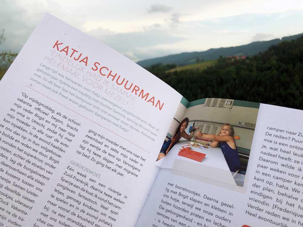 Bekende Nederlanders over kamperen in Smakelijk Kamperen. Een kookboek voor kampeerders!