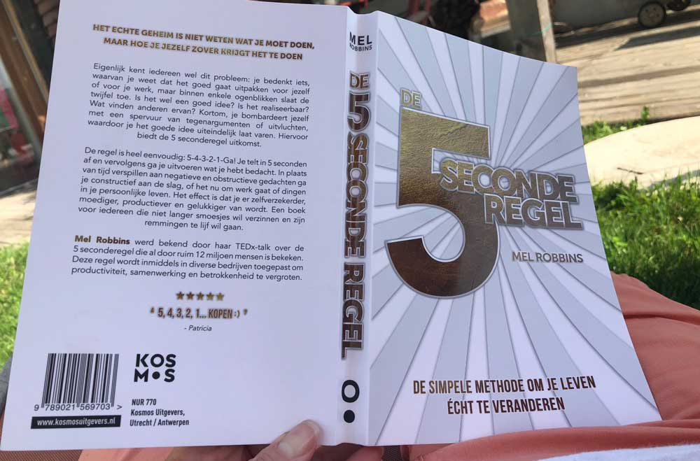 Het boek over de 5 seconderegel