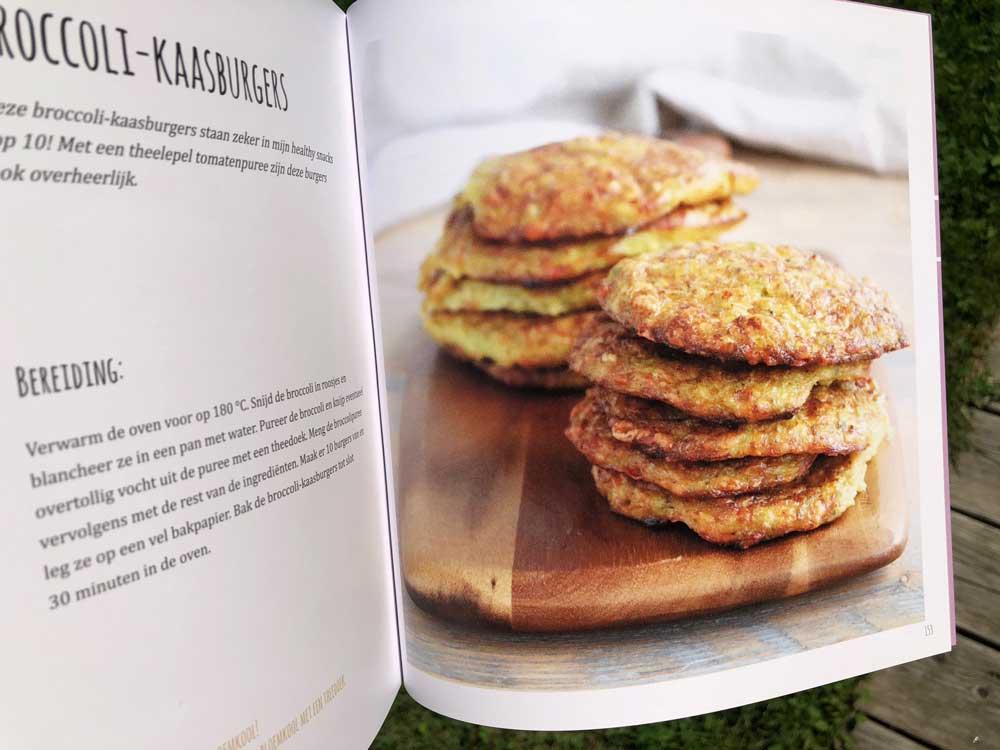 Kookboek met koolhydraatarme recepten