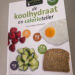 Handig boek om je koolhydraten en calorieën te tellen