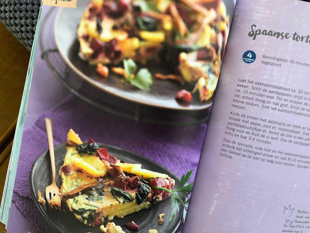 Nieuw kookboek met recepten van Weight Watchers