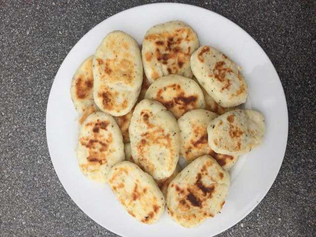 Recept glutenvrije kleine naanbroodjes