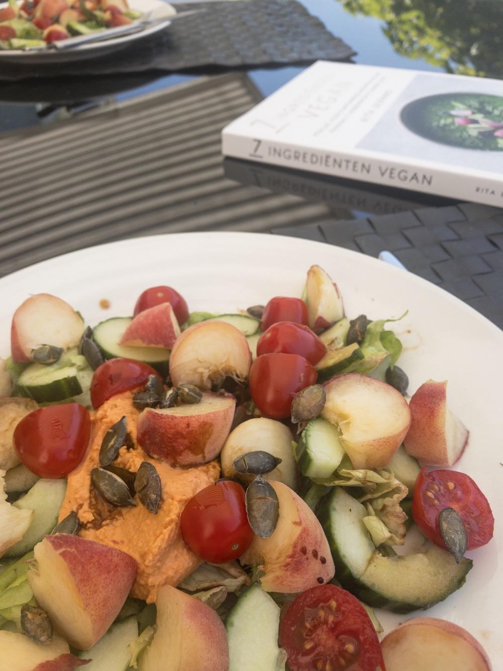 Heerlijke Vegan salade met 7 ingrediënten