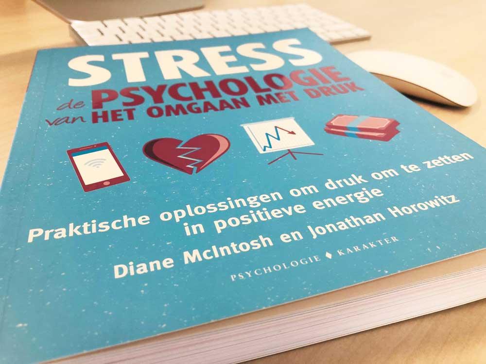 Boek over omgaan met stress