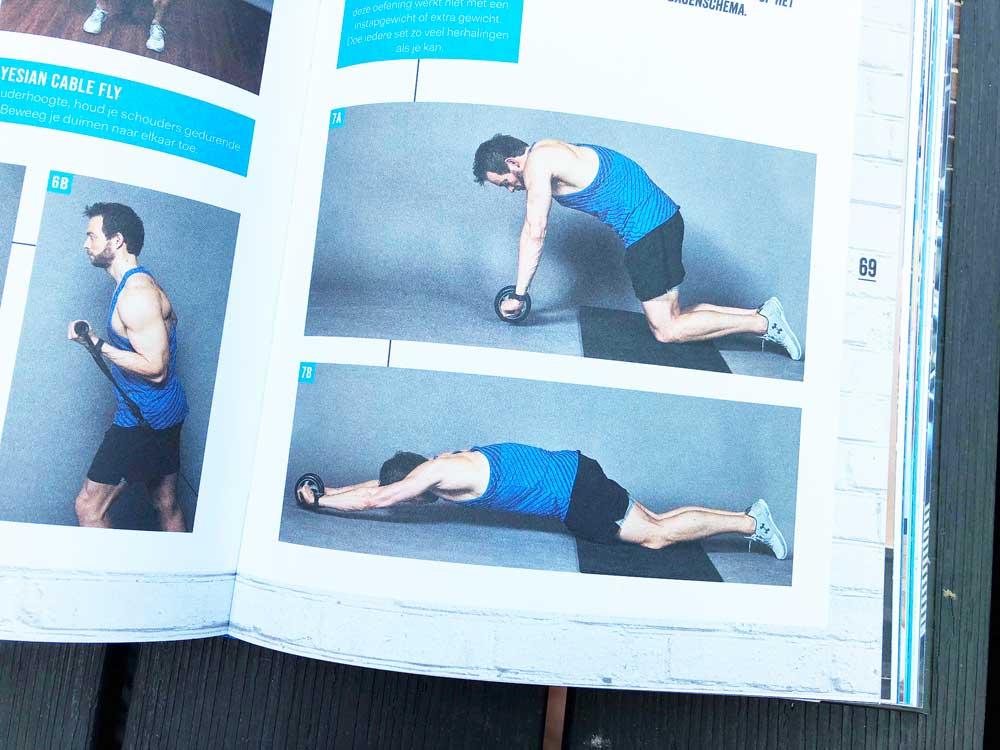 Oefeningen voor de sportschool van Henry Schut