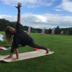 yoga op een natuurcamping in Nederland