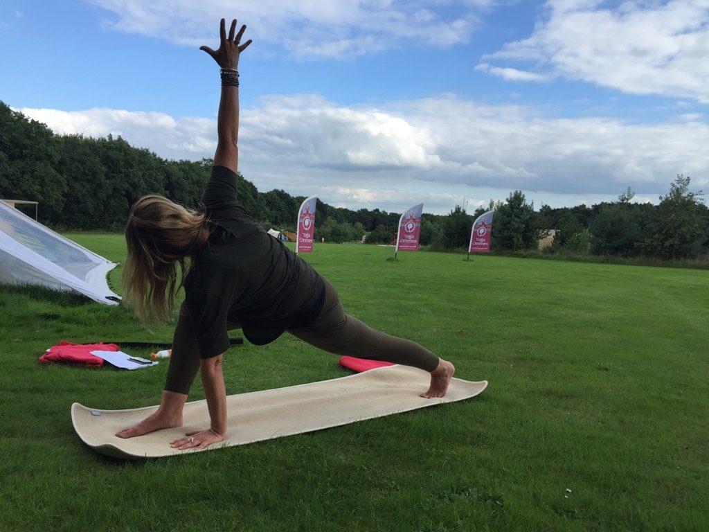 Yogaweekend op een natuurcamping in Nederland
